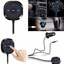 Bluetooth Receiver Car Kit with Audio Plug Adapter & Car Charger for iPhone HTC