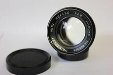 Prinzflex Auto Reflex 100mm f2.8 Telephoto Manual Prime Lens Pentax M42 Screw