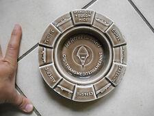 Ancien Cendrier Céramique Compagnie Ferrie Trans-Méditéranéenne Paquebot Bateau