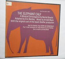 LP, The Elephant Calf, Musical by Bertolt Brecht, Asch Records FL 9831, Ins, NM