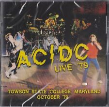AC/DC - Live '79 Towson State college ( 2Lp set/180g vinyl / Brand new & sealed)