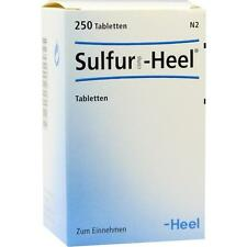 Sulfur comp. Heel tabl. 250 pièces pzn 8818987