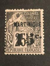 Martinique 1888/91 Timbres Des Colonies Surchargé N° 17 Neuf  *