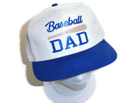 New Baseball Dad Hat Snap Back Cap Adjustable Fathers Day Gift Handmade OOAK