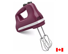 KitchenAid 5-Speed Ultra Power Hand Mixer in Boysenberry