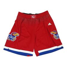 Kansas Jayhawks NCAA Adidas Women's Primary Logo Red F16 Basketball Shorts