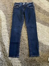 Womens Skinny Jeans Silver Aiko 28 X 31 - See Other Listings