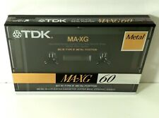 TDK MA-XG 60 Metal Alloy Extra Cassette Extra Wide Dynamic Range JAPAN - SEALED