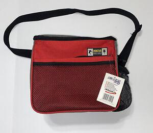 Innova Starter Disc Golf Shoulder Bag with mesh Bottle storage, Pockets, & Strap
