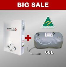 Gas Hot Water Heater Water Bladder Tank - Portable Shower Camping