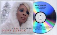 MARY J BLIGE A Mary Christmas Sampler UK numbered 4-trk promo test CD