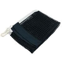 1.75M Length White Brim Nylon Ping Pong Table Tennis Net Black N3