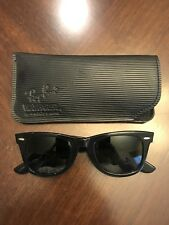 Vintage Bausch And Lomb Wayfarer RayBan Sunglasses