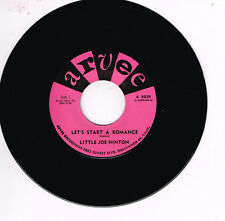 LITTLE JOE HINTON - LET'S START A ROMANCE (Hot Rhythm & Blues Stroller)