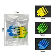 3 Pcs Universal Hair Clipper Limit Combs Guide Attachment Size Replacement