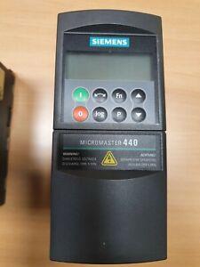Siemens Micromaster 440 6SE6440-2AB13-7AA1 0,37kW