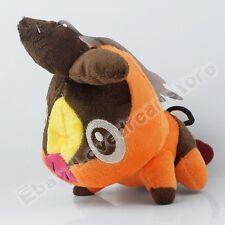 "Cute ! Pokemon Tepig 14cm/5.6"" Soft Plush Stuffed Doll Toy #498"