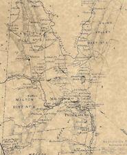 Oak Ridge Woodport Lake Hopatcong Woodstock NJ 1868 Map Homeowners Names Shown