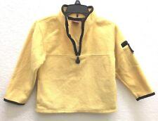 PROSPIRIT Children's Yellow Poly Fleece 1/4 Zip Long Sleeve Sweatshirt Sz XS (5)