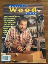 AUSTRALIAN WOOD REVIEW  Issue No. 34 TIMBER, WOODWORKING VGC