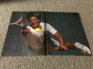 Vintage 1988 NIKE AIR PLAY Tennis Shoes Poster Print Ad 3-PAGE 1980s RARE
