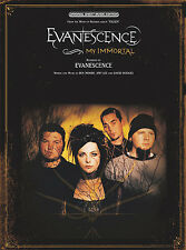 Evanescence: My Immortal Piano, Vocal & Guitar(with Chord Boxes) Sheet Music Sin