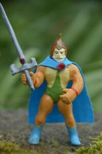 Custom Vintage 1985 THUNDERCATS Mini PVC Figure JAGA the Wise 2.5 inch w Sword