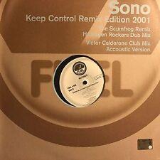 SONO • Keep Control Remix Edition 2001  • Vinile 12 Mix • 2001 FUEL