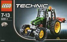 Lego Technic Mini-Tractor 8281 farming attachment