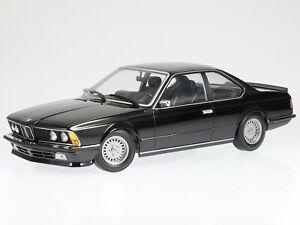 BMW e24 635 CSi 1982 blackmet. diecast model car 155028104 Minichamps 1:18