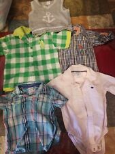 Toddler Boy Clothing Lot, 5 Items, Carters & Polo Size 6M