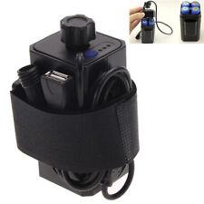 8.4V Akkupack Batterie Pack Wasserdicht für Fahrradlampe 18650 Batterien USB