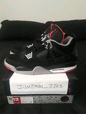 "half off 111c5 06aa2 Nike Air Jordan 4 IV Retro 2012 ""Bred"" 308497 089 Men s US Size 13"