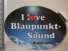 Aufkleber Sticker I Love Blaupunkt Sound - Bosch Gruppe - Decal 90er (3241)