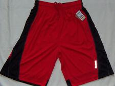 New Mens Reebok Basketball Shorts Size M Red/Black Regular Fit Retail $50