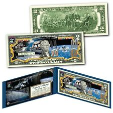 NASA International Space Station Genuine US $2 Bill - Largest Structure in Space