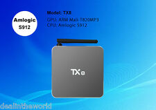 2gb/32gb tx8 Android 6.0 Smart TV Box Amlogic s912 OCTA CORE bt4.0 MINI PC
