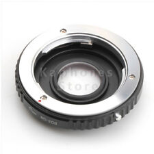 Adapter Ring For Minolta MD Lens to Canon EOS Mount Camera With Optical Glass