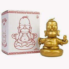 LOOT CRATE Kidrobot Simpsons Homer Figure RARE GOLD EDITION Gift Collectable Toy