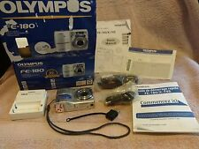 Olympus FE-180 6.0 MP Digital Camera - Silver