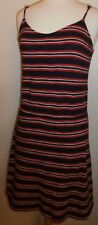 THE GAP Red, White and Blue Fourth of July Size Medium women's dress Striped