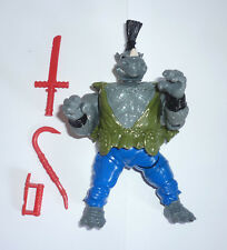 1994 TMNT Teenage Mutant Ninja Turtles figure Kung Fu Rocksteady - 100% complete