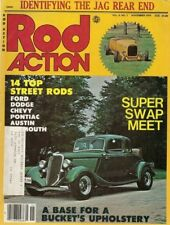 ROD ACTION 1979 NOV - ID A JAG REAR, CLEANING WIRE WHEELS, BUCKET INNER-SHELL