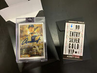 Topps Project 2020 Andrew Thiele Derek Jeter 82 Artist Auto Signed Card #6/99