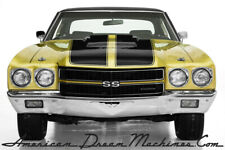 1970 Chevrolet Chevelle Real SS 396 Build Sheet