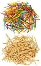 Wooden Matchsticks COLOUR or NATURAL Craft Modelling  match sticks