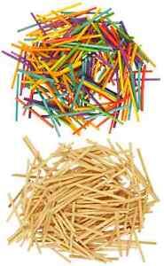 Wooden Matchsticks COLOUR or NATURAL Craft Modelling  match sticks