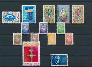 LO16637 Belarus mixed thematics nice lot of good stamps MNH