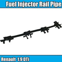 INJECTOR RUCKLAUFSCHLAUCH RENAULT SCENIC 1.9 DTI GENUINE OE 7700114802