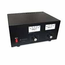 ASTRON Power Supply - 35 Amp With Meters & Adjustable Volt - Amp # VS-35M